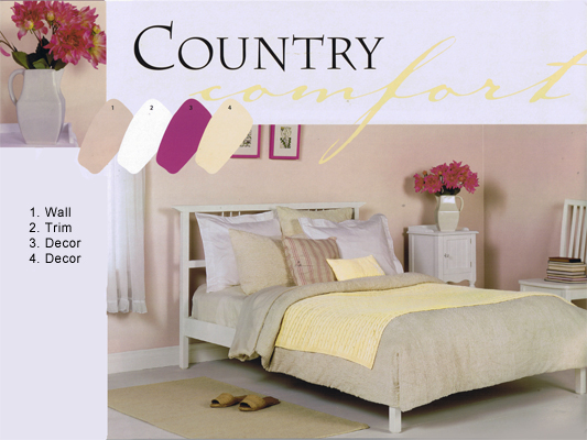 Bed and Bath - Country-Bedroom  Linmarr Towers Condominium Complex