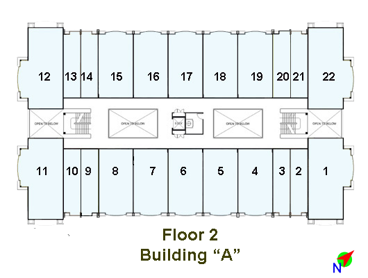Image of Linmarr Towers 2nd Floor floorplan