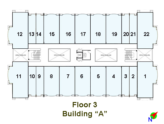 Image of Linmarr Towers 3rd Floor floorplan