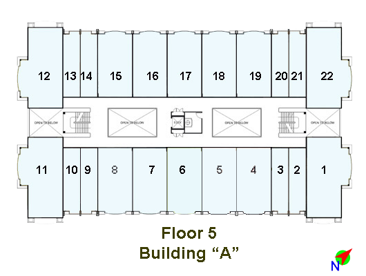 Image of Linmarr Towers 5th Floor floorplan
