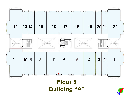 Image of Linmarr Towers 6th Floor floorplan