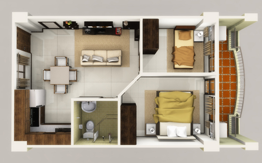 Image of a Linmarr Towers 2-bedroom Suite